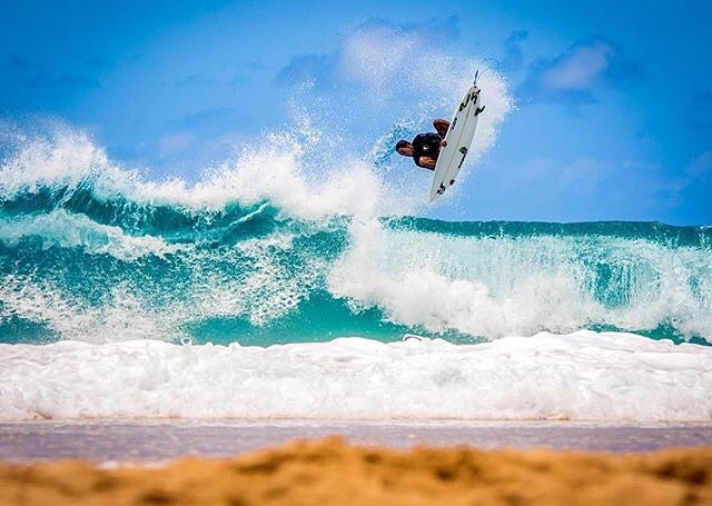 Team Rider @kainoahaas putting on a show | PC: @instaclamfunk #inspiredboardshorts