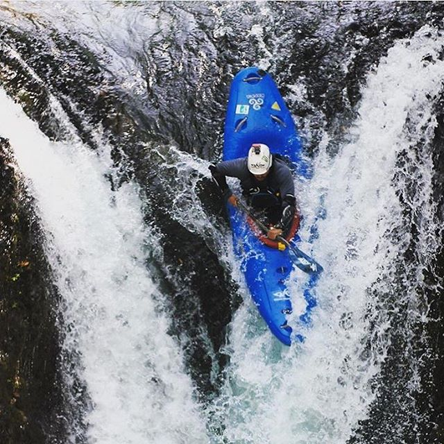Weekends are for #waterfalls!  Who is going out for a rip this weekend?  Tag your pics with #cuzrockshurt and we may feature you on our profile just like @andresrz89.