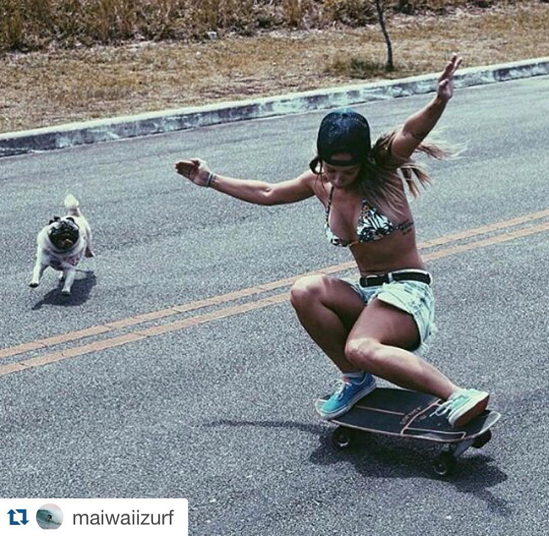 #Repost @maiwaiizurf with @repostapp. ・・・ #carver #carverskate #surfingiseverything