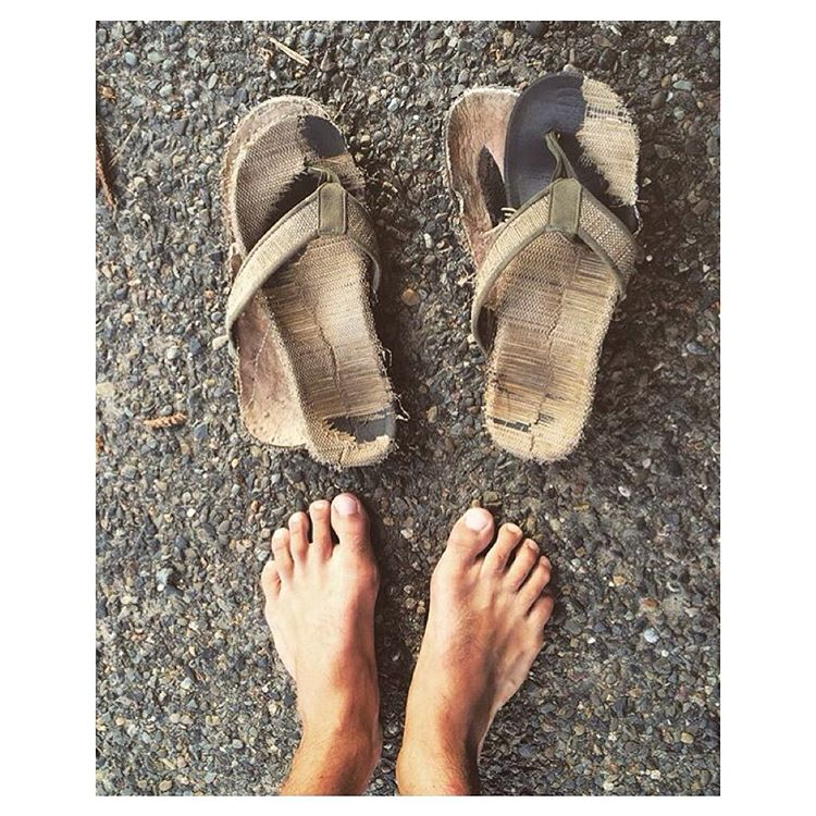 "Loved this so much we just had to reach out to learn about the journey these #sandals have been on! Said @lukegoodlife: ""Bought them in Bali & basically lived in them. They were awesome. Recommended them to 2 friends and they bought a pair. I went..."