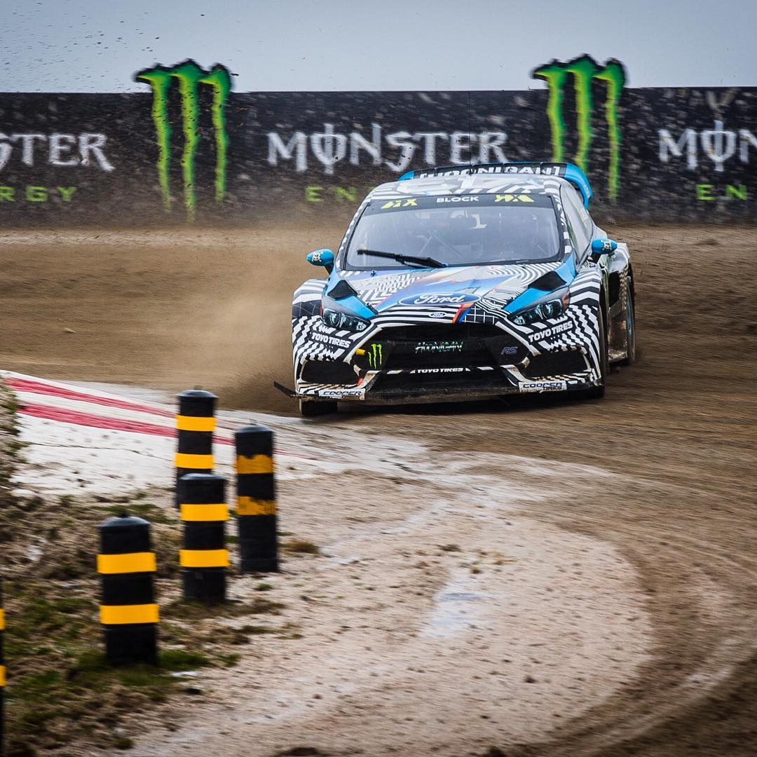 Getting a feel for an all-new racecar AND an all-new racetrack: not easy! Especially when there's so much of that rain and mud stuff. The car felt better with every lap this morning here at practice in @FIAWorldRX Portugal, though. The more seat time I...