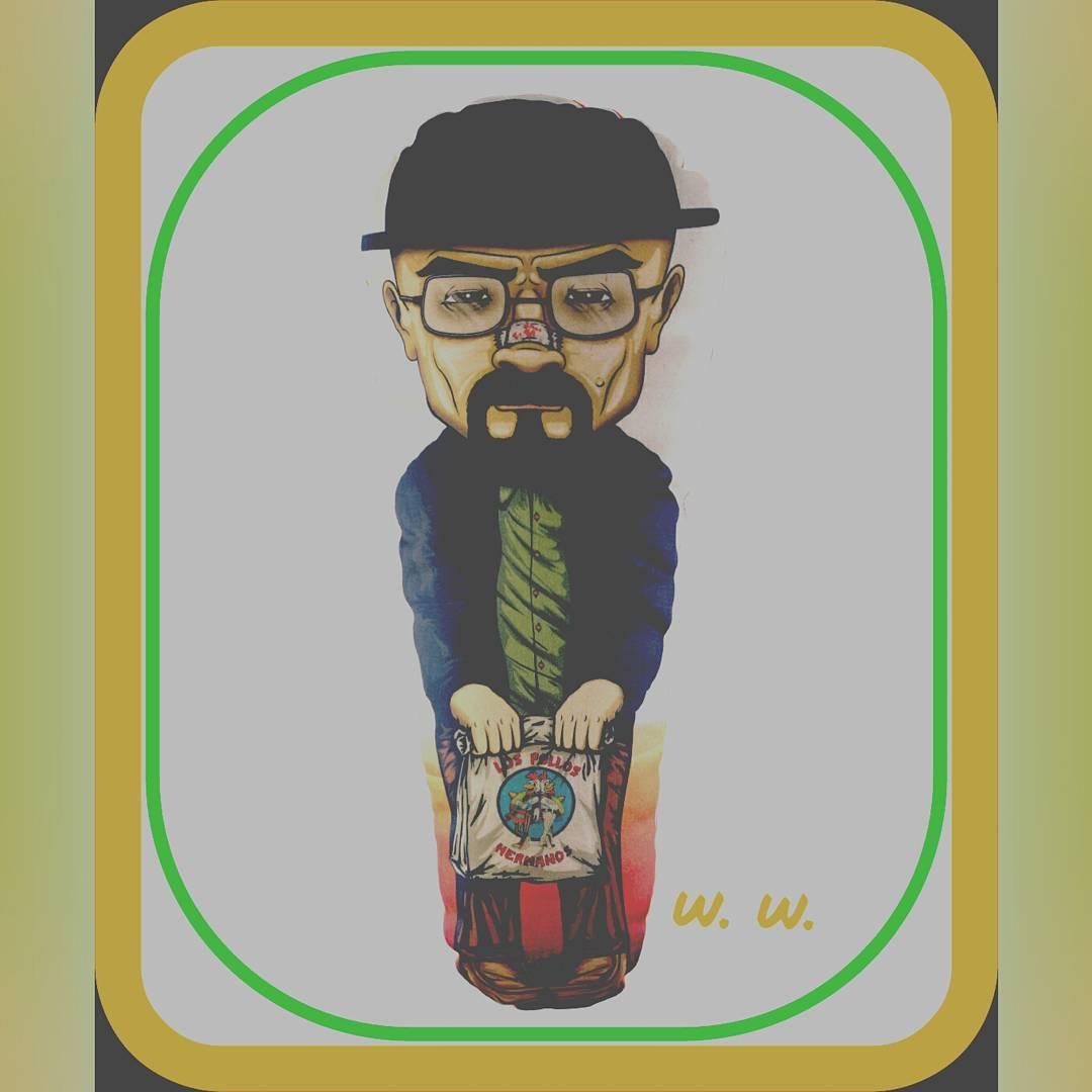 Uno de los personajes más solicitados. Walter white, un icono moderno. #polloshermanos #breakingbad #regalosoriginales