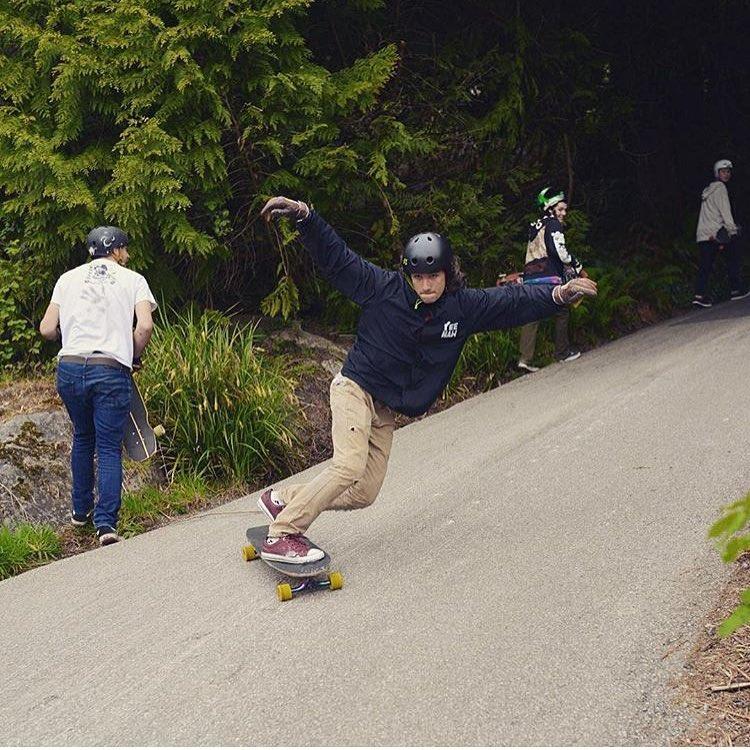 @sho_ouellette #highwayjam Sho wears the S1 Lifer Helmet @valhallaskateboards