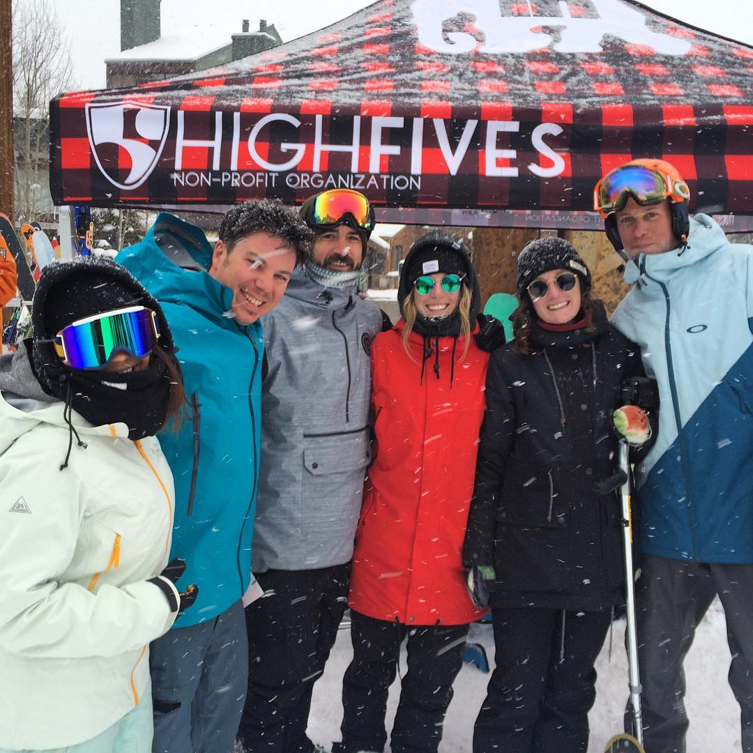 High Five from Colorado and thanks for the freshies!