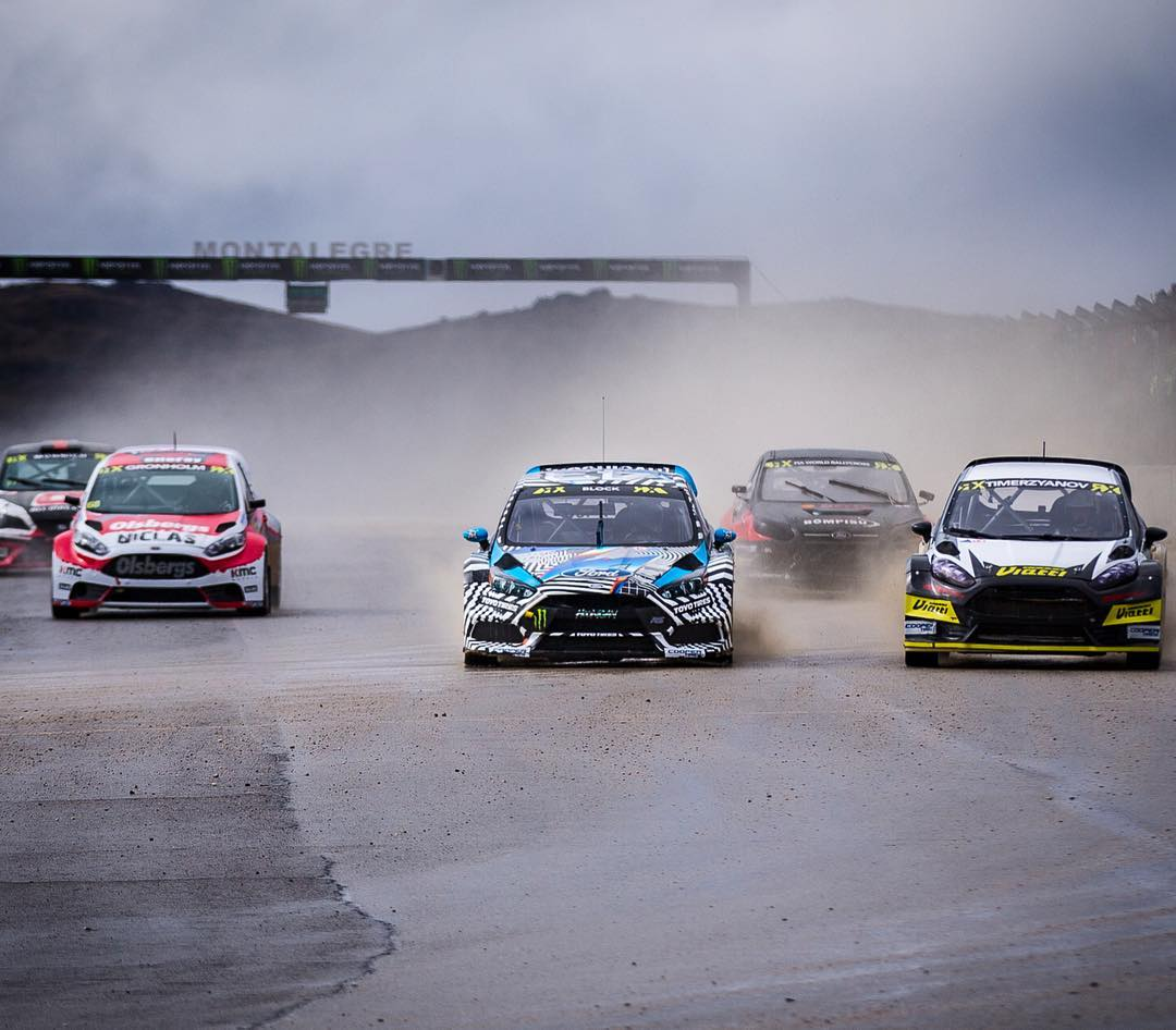 It's been a wild first day of racing out here at a very, very rainy @FIAWorldRX Portugal in Montalegre. These are some of the most treacherous conditions I've ever driven in! The Ford Focus RS RX felt good today during practice, and I was getting to...