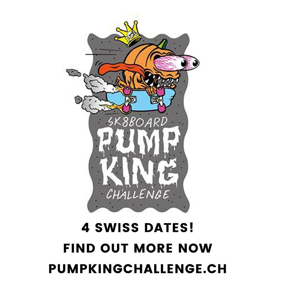 the Pump King Challenge is happening... TODAY! Get out there and rule the pumptrack. www.pumpkingchallenge.ch