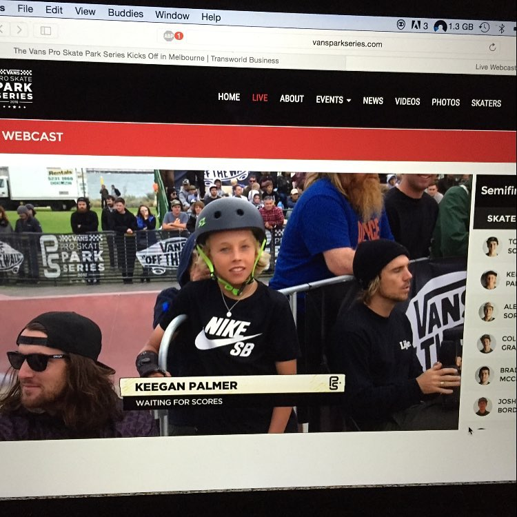 #vansskateparkseries in #melbourne was insane !!! @keeganpalmer ripping in his S1 Lifer Helmet ! And big congrats to @chrisrussell_mbk for taking home the bag of