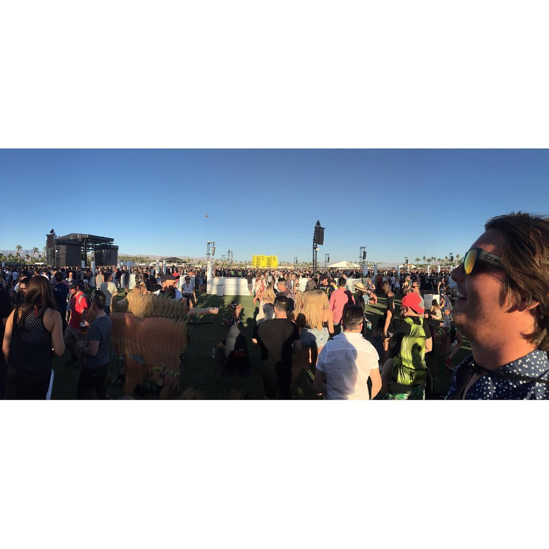 What's your vision at @coachella ?  #hovenvision #justbusylivin #alwayssunblockingneverfunblocking #coachella