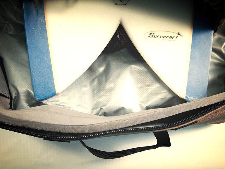 More padding than a push-up bra. #wavetribe #boardbags #hemp #ecosurf