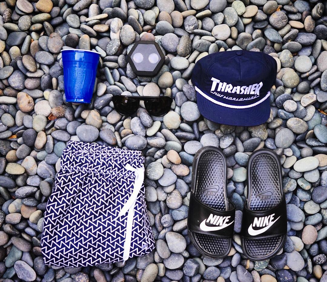 Sunday essentials #Boombotix  Get your Rex Speaker at Boombotix.com  #essential #audiophile #portablespeaker #nike #thrasher