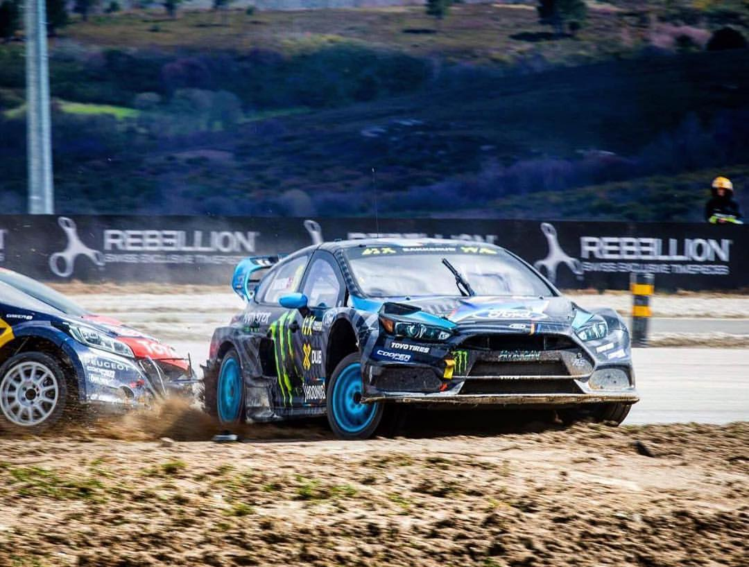 @andreasbakkerud threw down some seriously impressive lap times. You could says he's getting the feel for the Focus RS RX quite nicely. #WorldRX #FocusRS