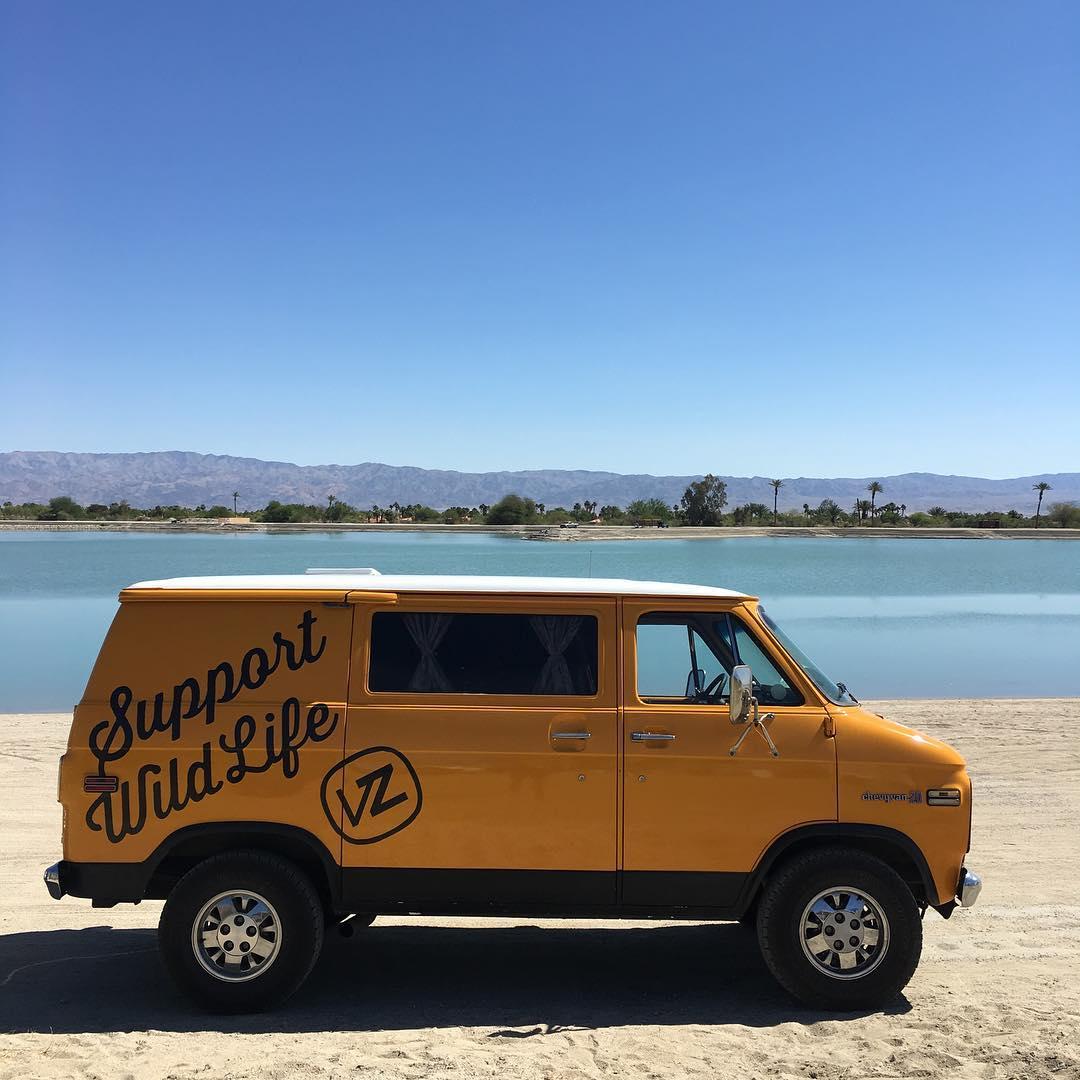 Hey #Coachella, you're pretty fun. Come visit us at Vestal Village! #VonZipper #SupportWildLife