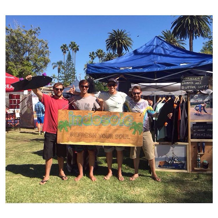 Great running into our friends @bureo w/ their #NetsToDecks at the Santa Barbara Earth Day festival this weekend! Sunny daze, good times
