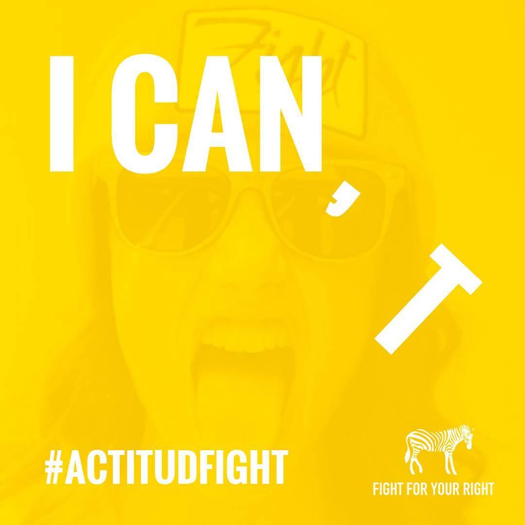 Lunes. Podés hacerlo todo. Empezá la semana con #actitudfight