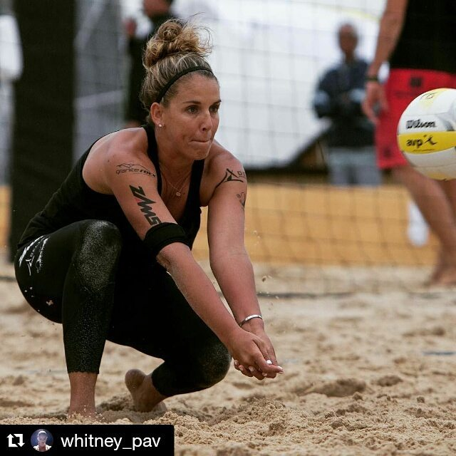 Even though it wasn't the result @whitney_pav was looking for this past weekend, she and her partner played great at the opening #avp2016 tourney in NOLA!! We are excited to watch them kill it next at Huntington Beach in early May! #beachvolleyball...