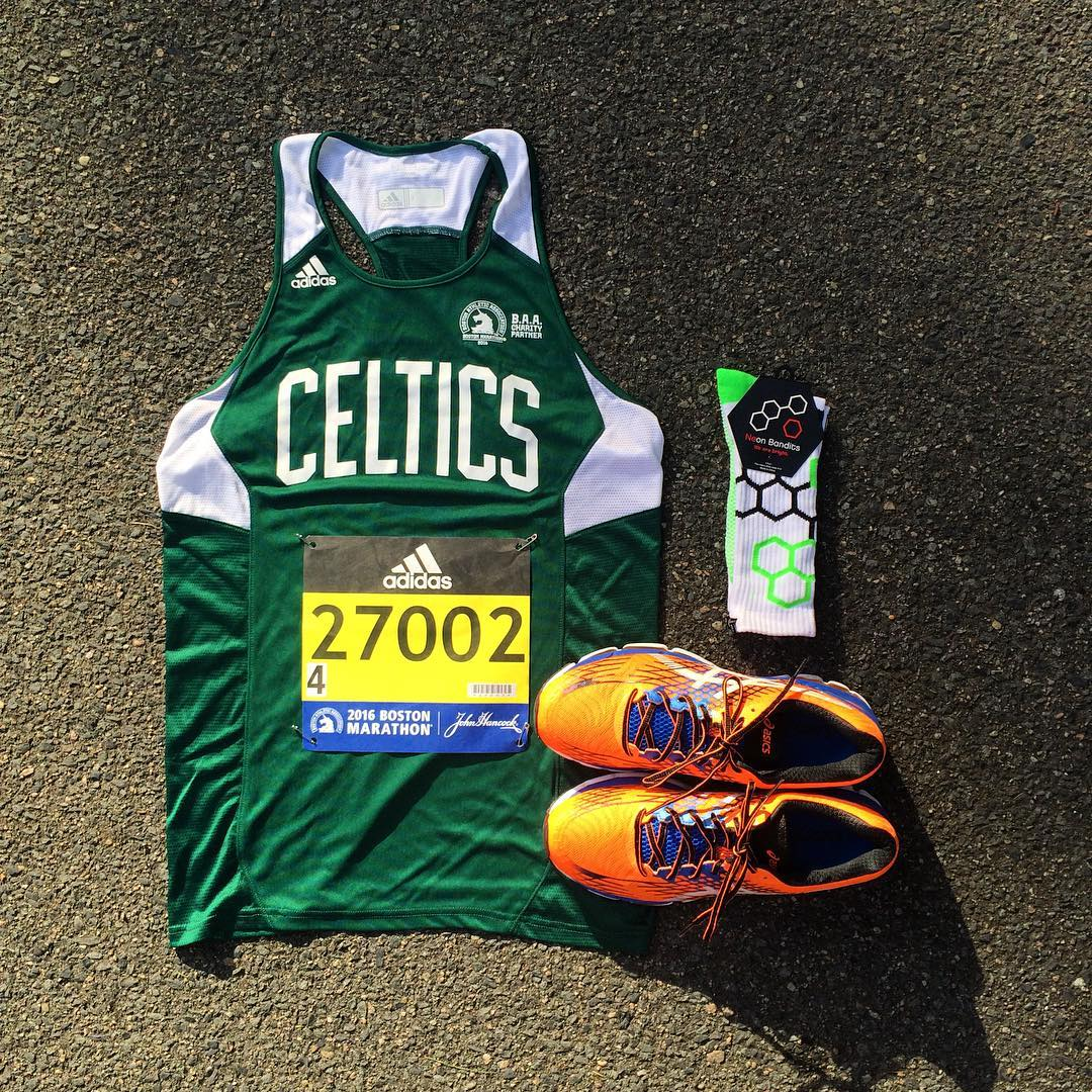 Today, we're all #oneboston. Wishing luck to all those running, especially our very own Dan! Track him via bib #27002.