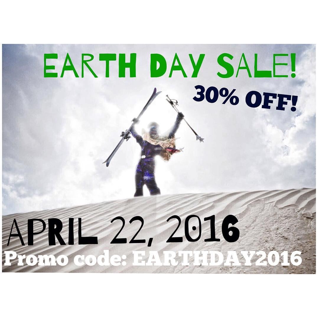 Earth Day Sale! 30% OFF! Friday, April 22nd only... Promo code: EARTHDAY2016  #TribeUP Earth Day!  Photo: @mophofomo  #PandaPoles #PandaTribe #EarthDay #Earthday2016