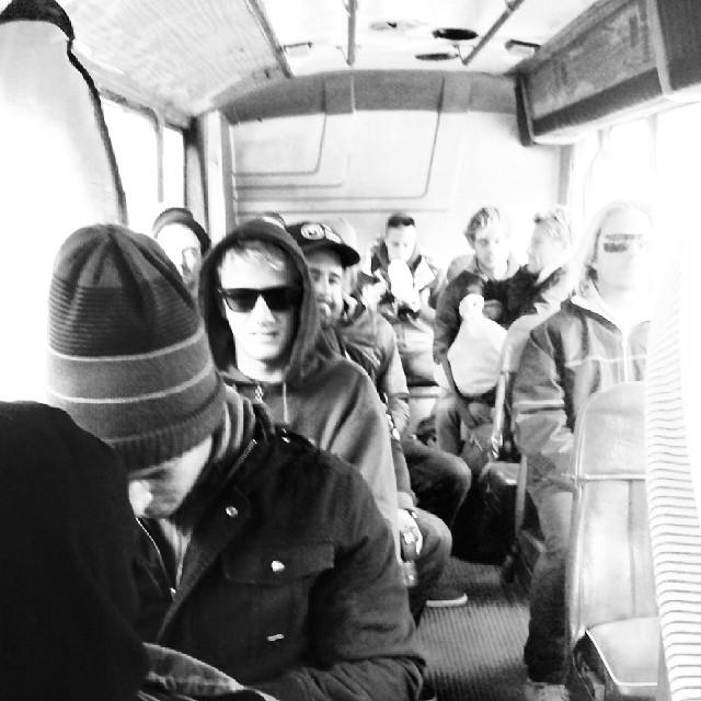 #Surfistas camino al #surfthechecklist by Vans.  Se hace en Horizonte y arranca en minutos. Seguilo x Twitter. Cc @julianiturralde #surf #surfing