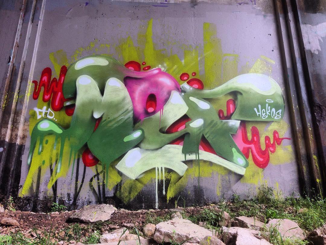 @watchyourmouf #mouf #ltd • • #atx #austintx #texas #tx #spratx #graffiti #grafite #streetart #paintdaily