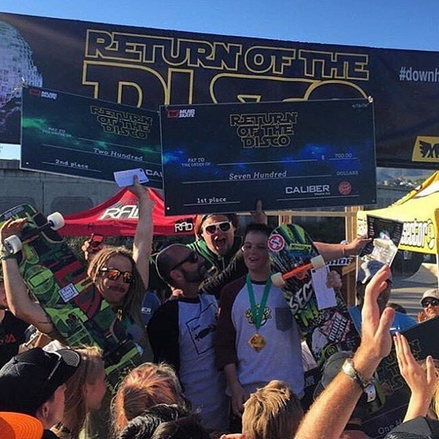 congrats to the winners of the @muirskate #downhilldisco2016 boarder cross race!  1. Cole Trotta  2. Will Royce  3. Brad Edwards 4. Jimmy Riha