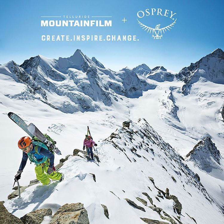 Know someone whose work is making a positive impact in the world? Share their story and they could win a trip for two to the 2016 Telluride Mountain film festival from our friends at @ospreypacks ! They'll also get some great prizes from a bunch of...