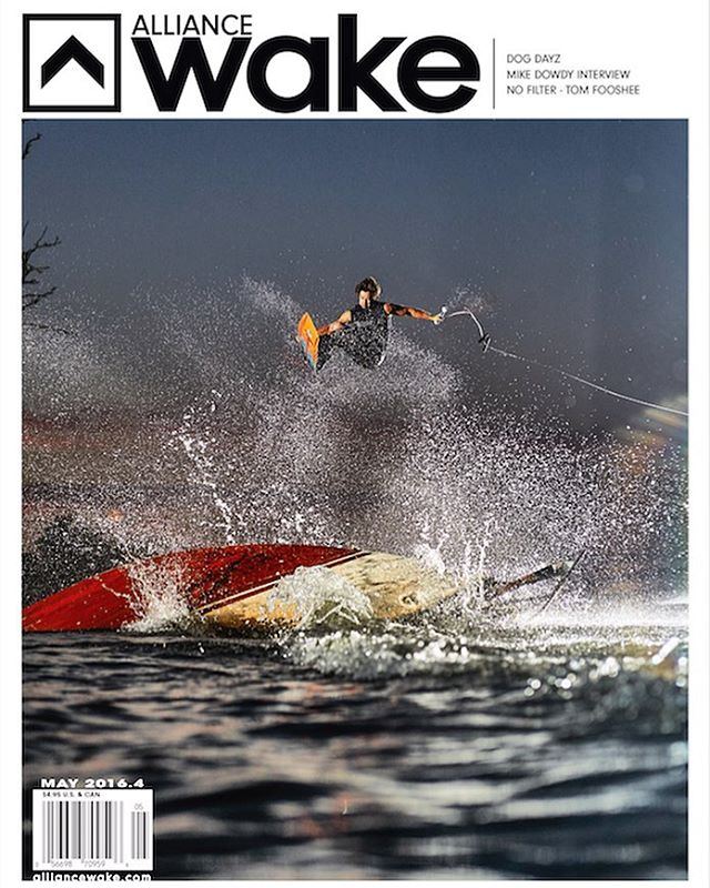 Congratulations Coverboy Cook. Gracing the cover of the new @alliancewake magazine out now. Be sure to check out Derek's full section in @dogdayzfilm It'll blow your mind @cookslooks #coverboy #cook #liquidforce
