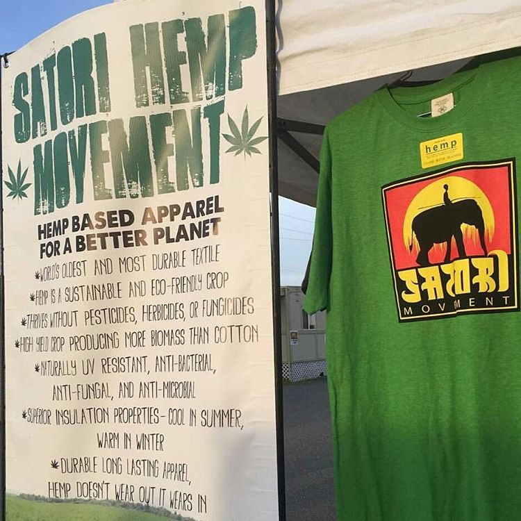 Todavia quedan remeras de #hemp #cañamo #satorimovement #hempculture