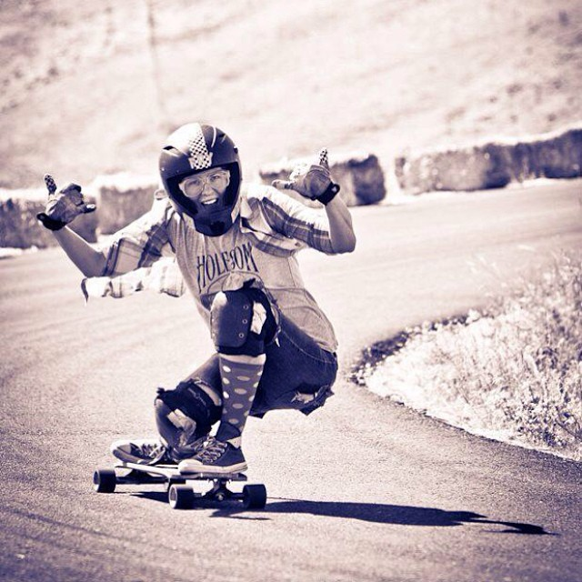 Happy bday to this lady shredder! Keep rocking @717kfry! Katherine Kimball photo #longboardgirlscrew #stokeface