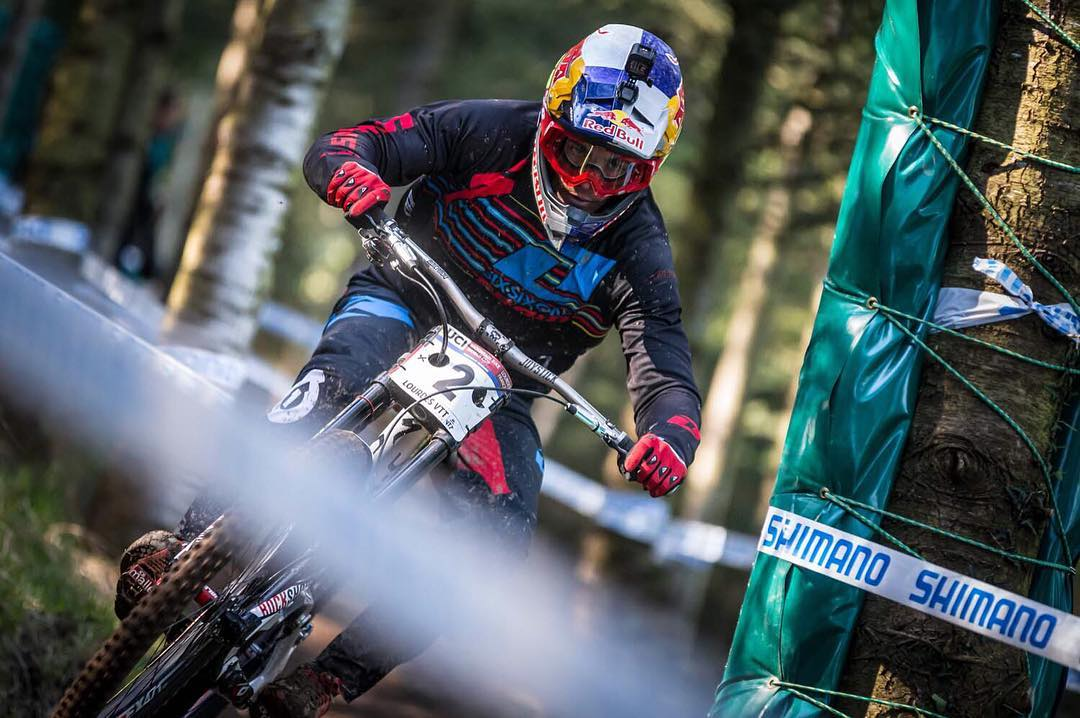 "We're ready to get back between the tapes! Specialized Gravity riders are already in Cairns preparing for WC DH #2 this weekend! Check out our full ""finals"" report from the opening round in Lourdes > sixsixone.com/blog/ #SixSixOne #ProtectFun #RageKnee..."