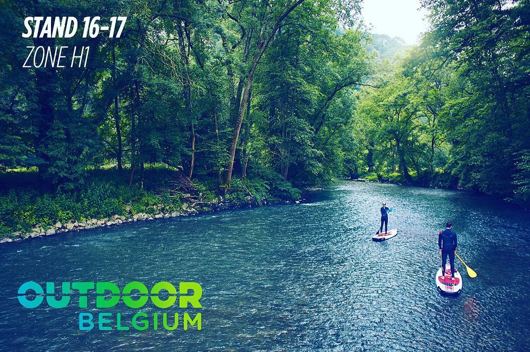 Here we are again! You can find us and our lovely SUPs the 23th and 24th of april @ the Outdoor Belgium Show. Try SUP at our swimming pool (!) ✌