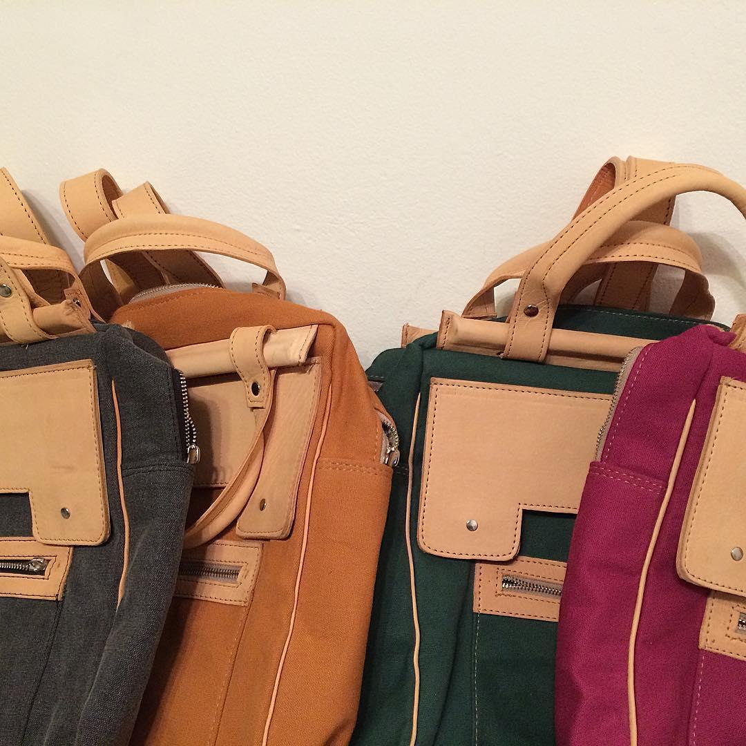 #Pitimini #colores #mochila13 #bagpack #tecnología #cuerovegetal #leathergood :)