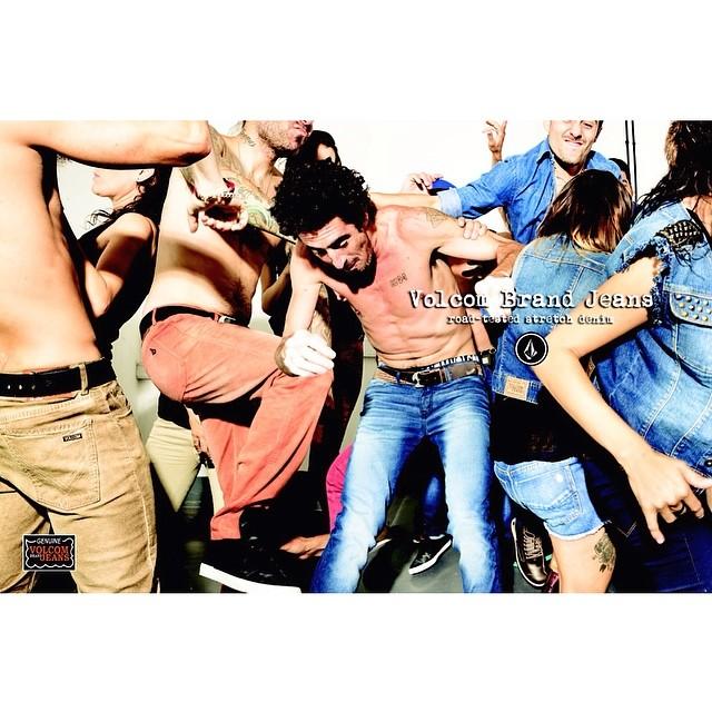 Volcom Brand Jeans #vbj #W14 #roadteasteddenim #strechdenim