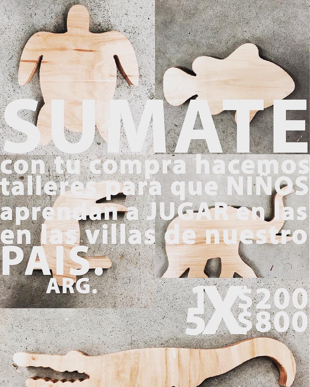 Juguetes .MAS. ---> compra el tuyo y contribui al desarrollo de talleres para niños en las villas de nuestro pais #juguetes #toys #mas