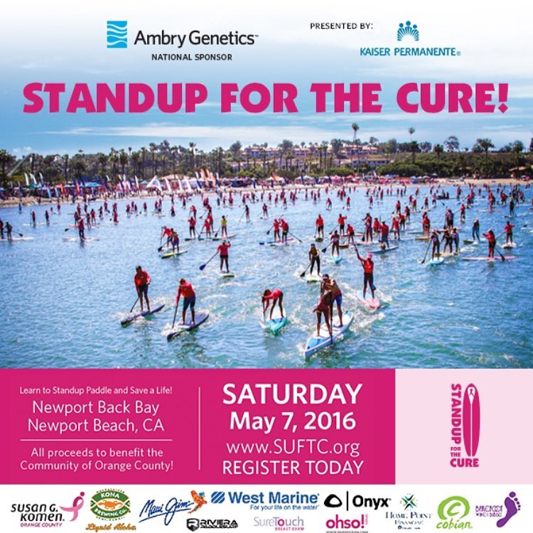 We are excited to exhibit at @standupforthecure May 7th in Newport Beach, CA! Come on out in pink to support a great cause!