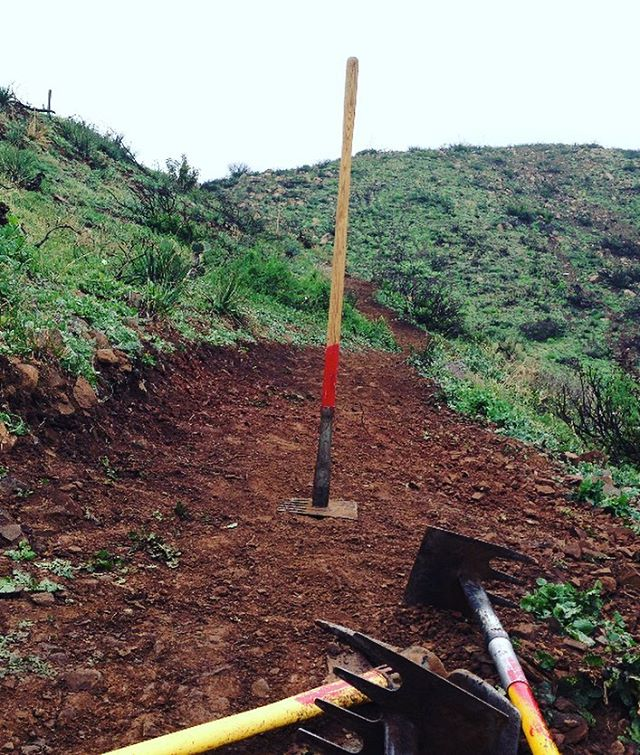 T R A I L  D A Y  T H I S  W E E K E N D Volunteer w/ us this saturday to support our #radparks during #NationalParkWeek. Swing some tools & slap some high fives. We will be in the Santa Monica mountains around PT Mugu, email info@parksproject.us if...