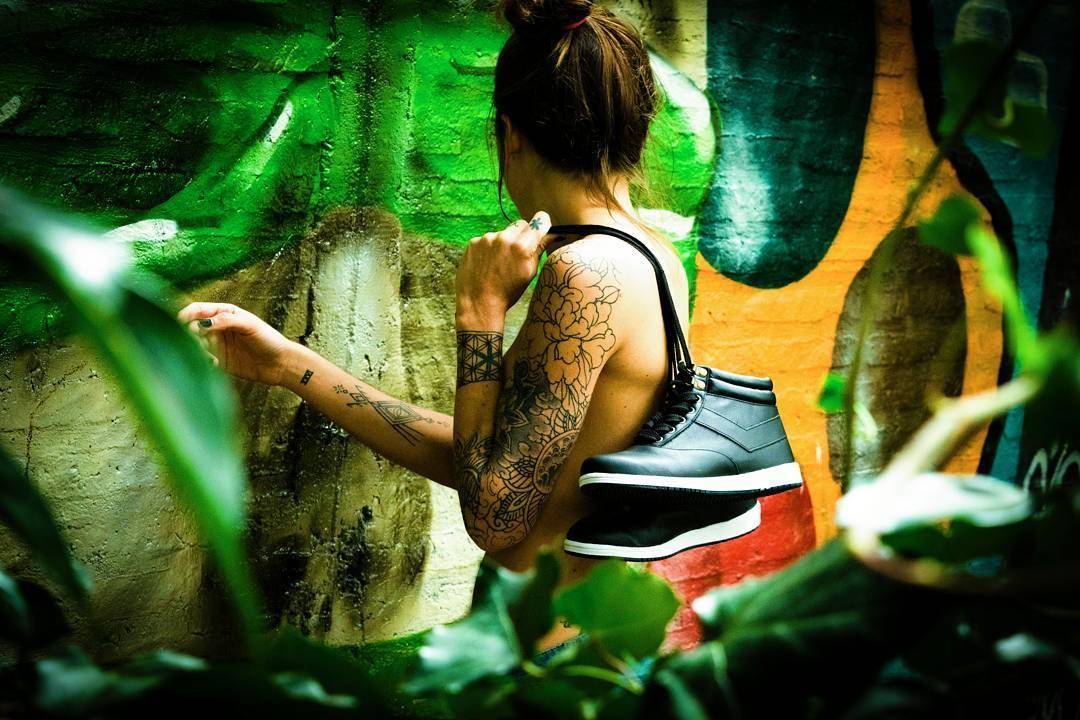 B o r n  T o  B e  W i l d •Lanin•  #sneakerfreaker #sneakers #sneakerholics #sneakerhead #shoestagram #kickstagram #tattooedgirls #ink #tattooart #vsco #vscocam #wild #streetart #womenswear #womensfashion