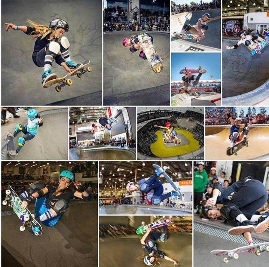 Loving this collage of confirmed skaters for this year's XGames, courtesy of @girlisnota4letterword ! For more info on the event follow the link in their bio @girlisnota4letterword ! Congratulations to all the skaters, we caaaan't waaaaait!