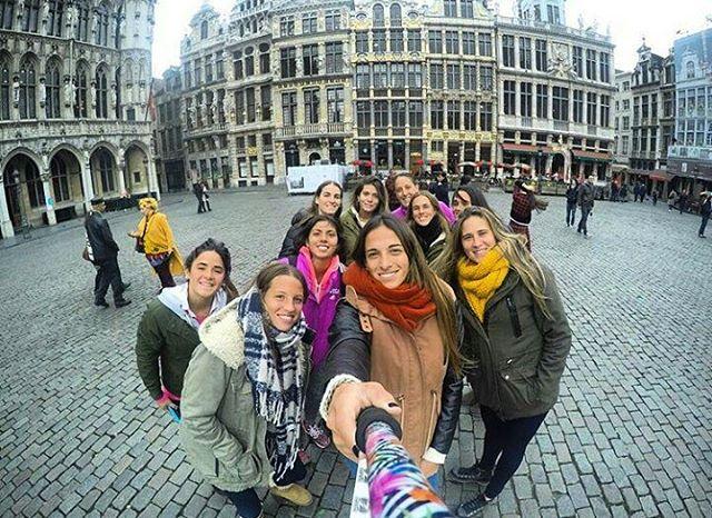 #LasLeonas desde #Belgica con su #ZephyrPole! Ph: @carlitadupuy