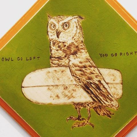 Sharing edition:  #Owl go left ~ you go #Right