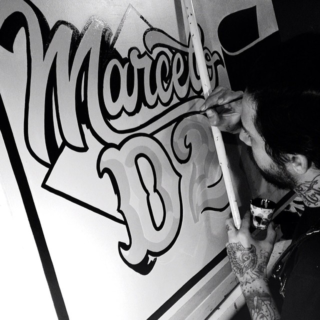 @caetanocalomino Brazilian #signpainter from #issue30 #steezmagazine