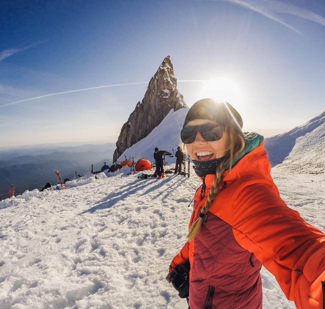 #WCW + #GoProGirl: @findmeoutside  Hello! My name is Elena Pressprich and I am a outdoor lover and photographer living in #Oregon! During the week, I am a x-ray technologist (yep , I take pictures of bones!), and when the weekend comes , you can...