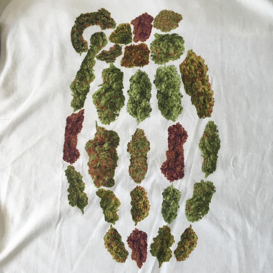 Happy 4/20 from #GrenadeGloves win this shirt and more! Check out last post #420