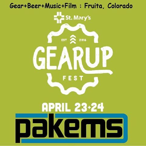 Come check us out at the Gear Up Festival in Fruita, CO this weekend! We will have Pakems for sale at unbeatable festival prices! #gearupfestival #getoutside #pakems #fruitacolorado #campshoes