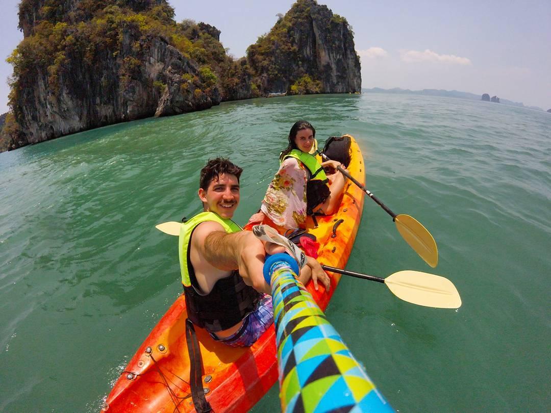 @manuguija desde #KohHong #Krabi, con su #ZephyrPole!