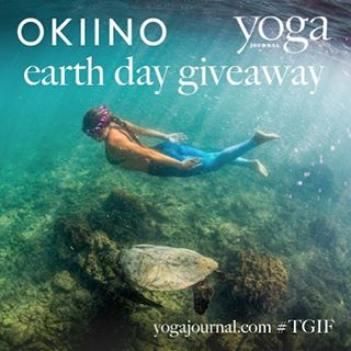 EARTH DAY EVERYDAY  Win OKIINO on Earth Day