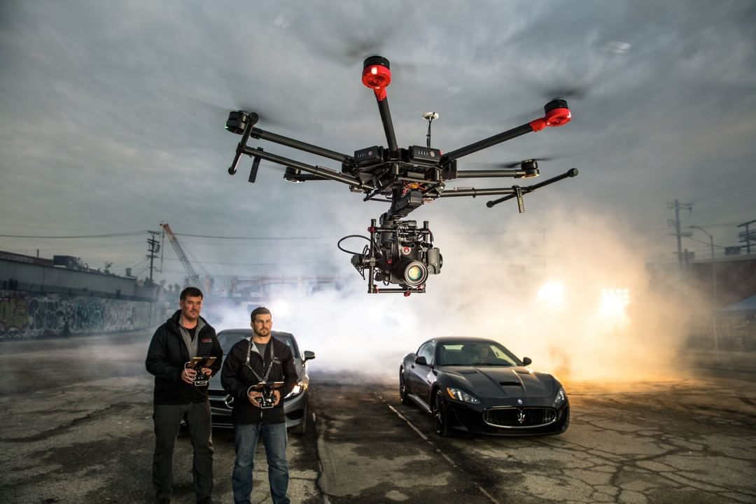 What has 6 legs, offers unbeatable camera stability and one incredible brain?  The new #DJI #M600, #RoninMX & #A3 Flight Controller prove that the best things really do come in threes.