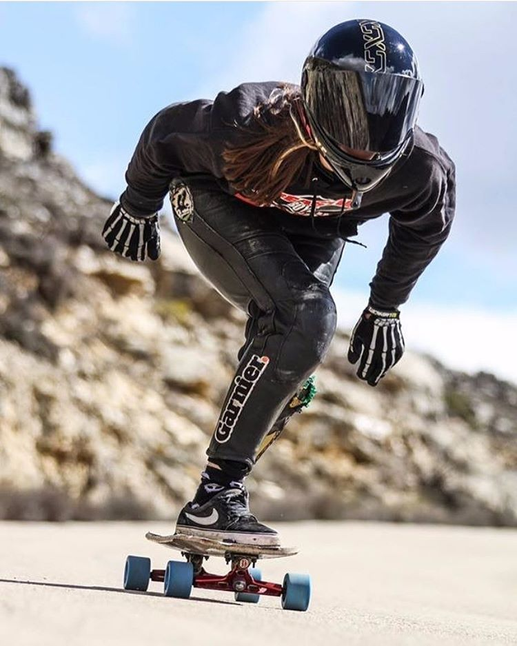 Repost from @longboardgirlscrewarg!  LGC Argentina rider @camille_lesyeux is currently in Spain. Check her out last weekend racing 7 Horquillas