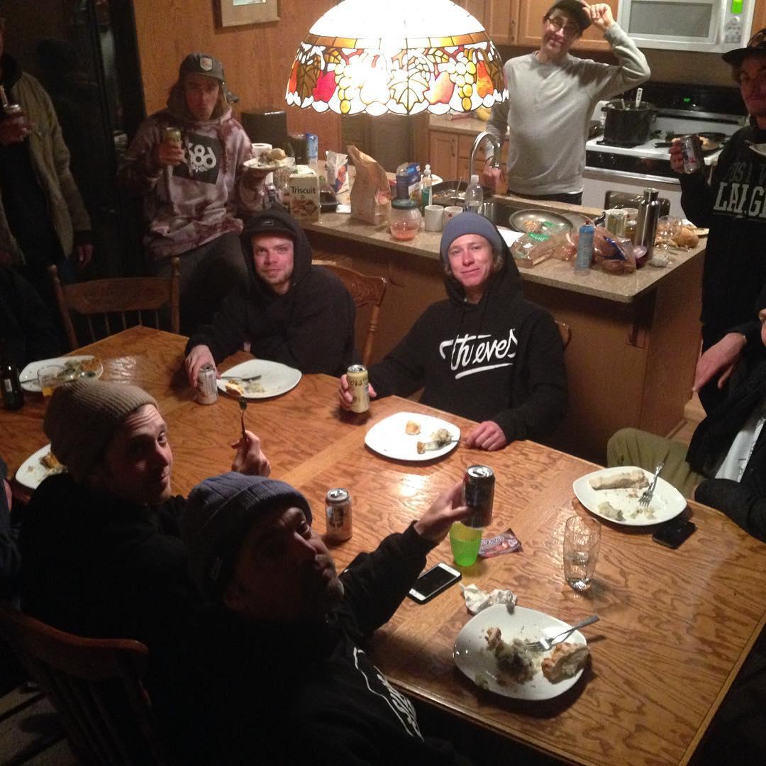 Academy family dinner with the boreal crew! #academyforlife #gathering2016 @lenzel_bossington (Lenny mazzotti) @ryan_tarbell @roycephotogs (Eric Royce) @instatrap (Eythan frost) @anthony_mazzotti @chadotterstrom @jake_tahoe @willkody (kody Williams)...