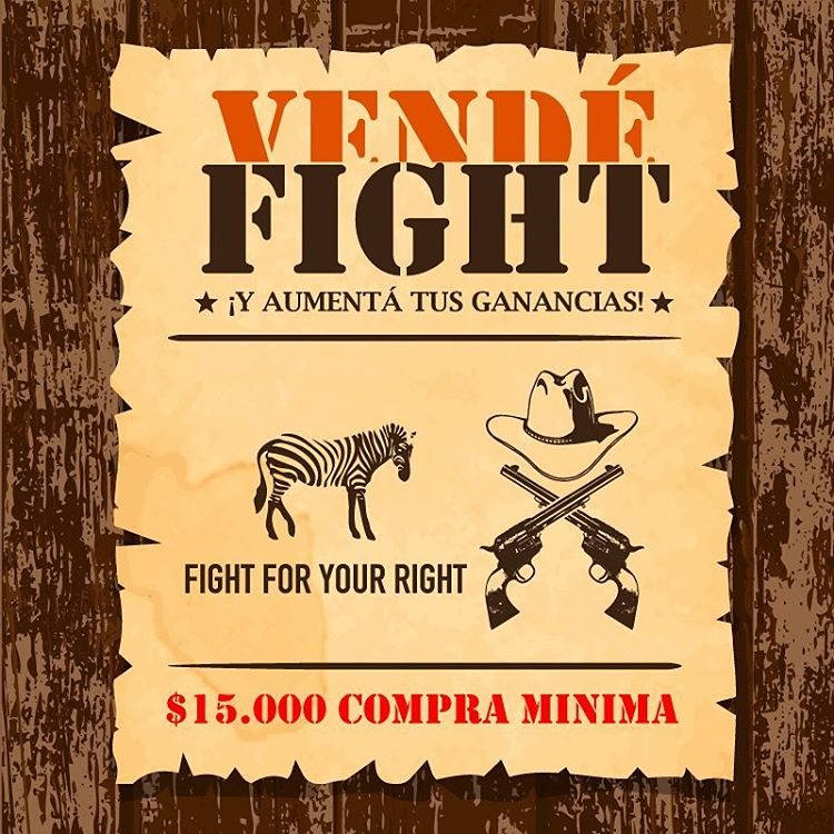 Vende @fightforyourrightok ! #actitudfight  Más info en www.casafight.com Casafight@casafight.com