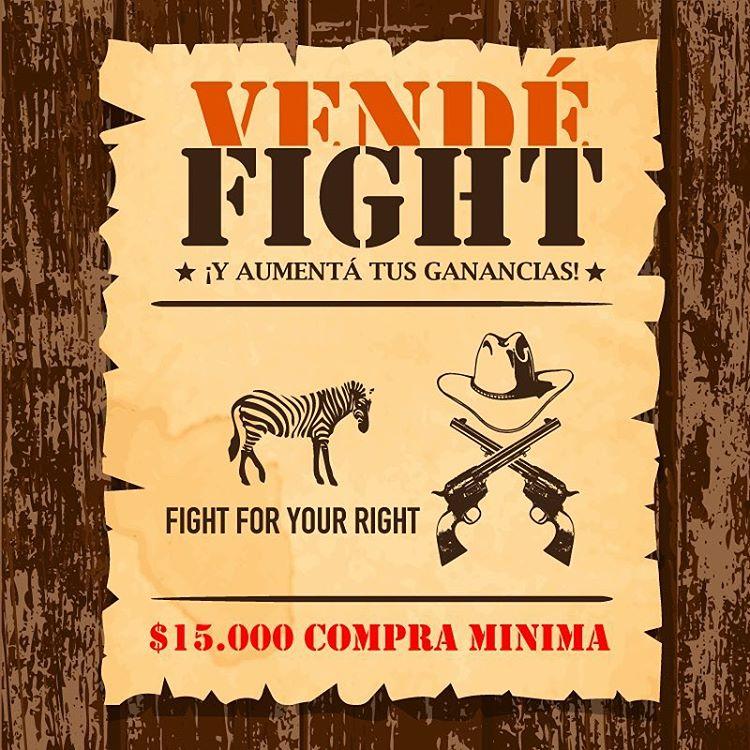 Vende @fightforyourrightok ! #actitudfight  Más info en www.casafight.com Casafight@casafight.com